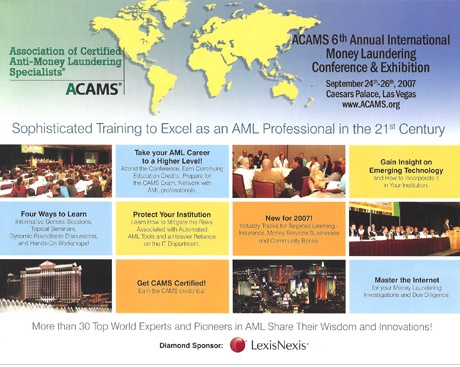 ACAMS Conference Brochure