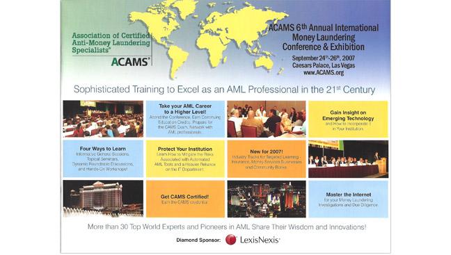ACAMS Conference Brochure
