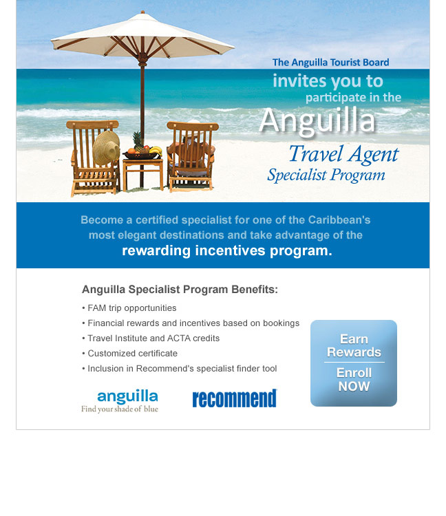 Anguilla Travel Agent email