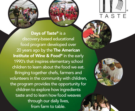 Days of Taste Brochure