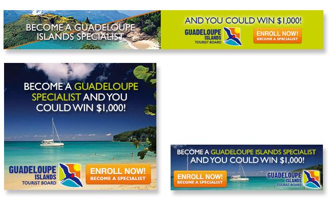 Guadeloupe Web Banner Ads