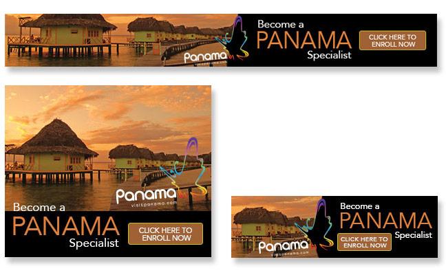 Panama Web Banner Ads