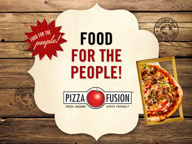 Pizza Fusion video slides