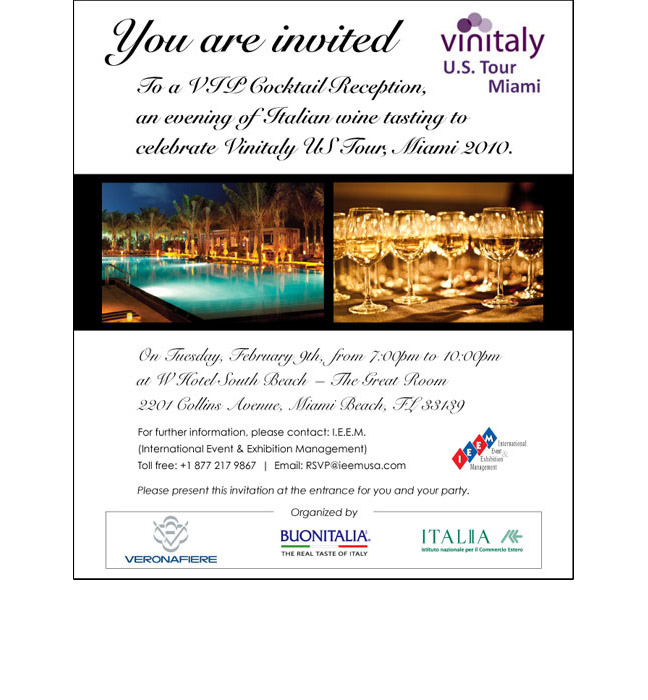 Vinitaly email