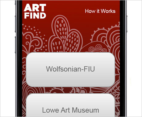 Art Find Mobile App