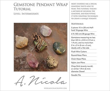 Wire-Wrapped Jewelry Tutorials