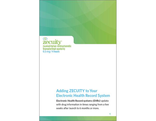 Zecuity Brochure