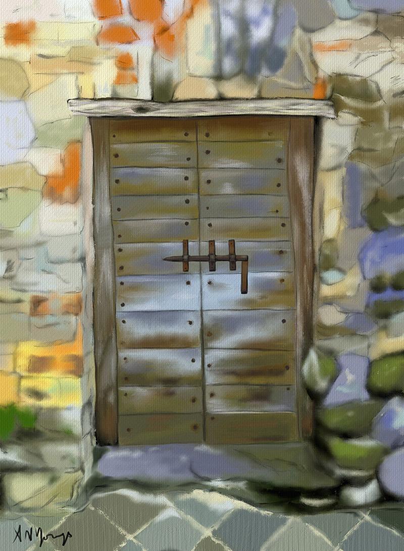 Tuscan Door & Tuscan Door - Aimee N. Youngs | Aimee N. Youngs