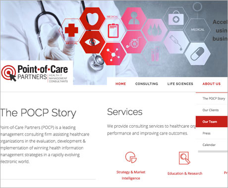 Point-of-Care Partners Website