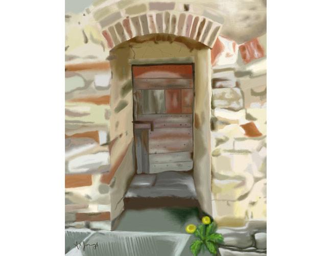 Another Tuscan Door, A. Nicola