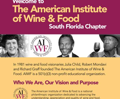 AIWF Membership Brochure