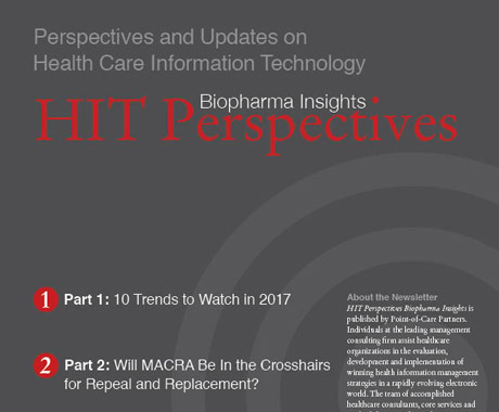 HIT Perspectives editorial layout