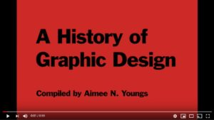 A History of Graphic Design video short